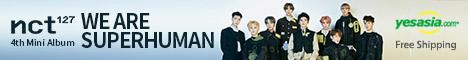 NCT 127 Mini Album Vol. 4 - NCT #127 WE ARE SUPERHUMAN