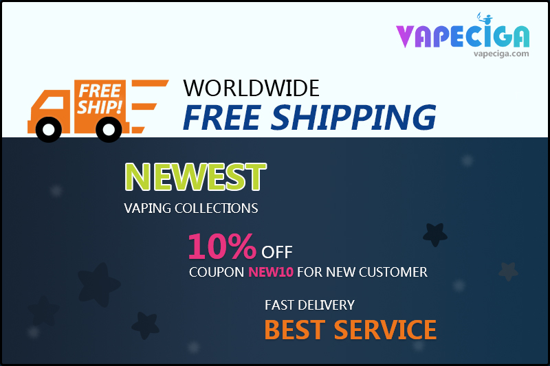 Vapeciga 10% Whole Site Discount Code [b]New10[/b] For New Customers.