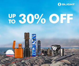 Olight New Releases and flash sale, Up to 30% OFF