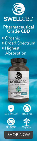Ultra Premium CBD Oil / THC FREE / 100% Organic / USA Grown - Visit SwellCBD.com