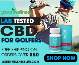 Lab Tested CBD for Golfers. Get Free Shipping on orders over $50!