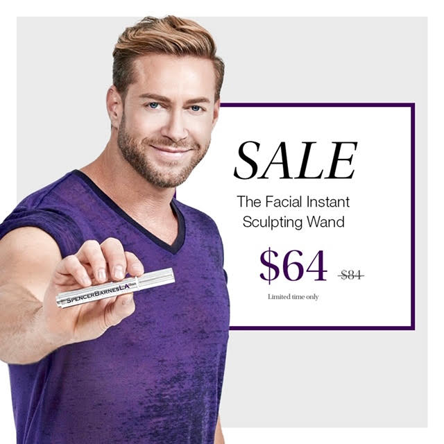 Get The Facial Instant Sculpting Wand for $64!