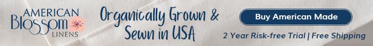Organic Bedding by American Blossom Linens