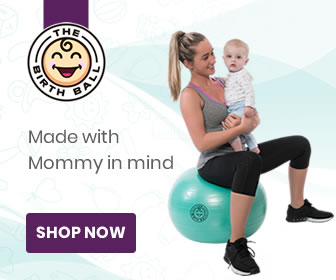 Birthing Ball for parent and baby