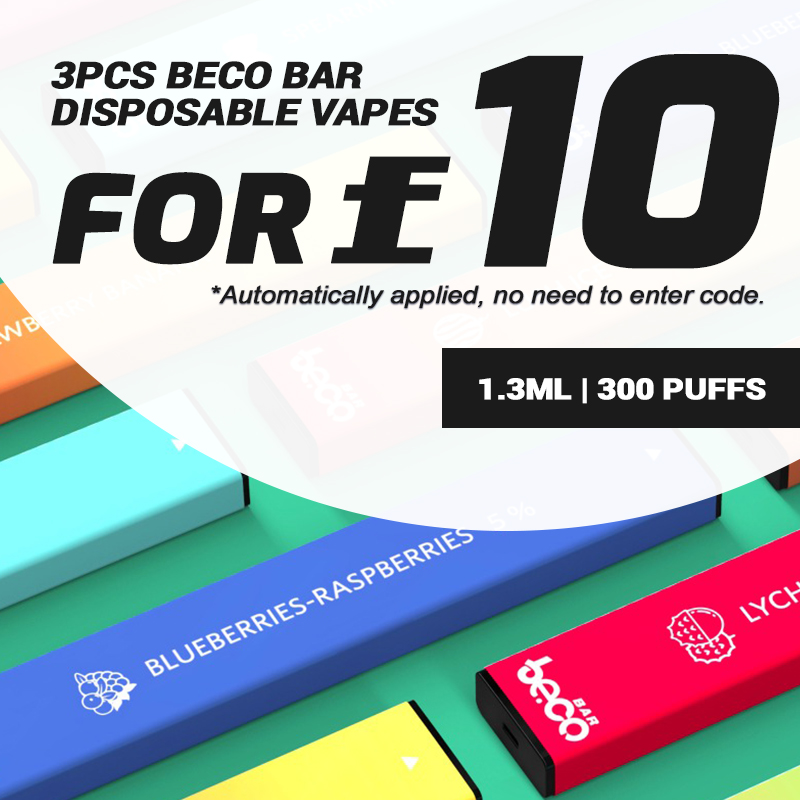 BecoBardisposablevapedevices 4 - 3PCS Beco Bar Disposable Vapes for £10