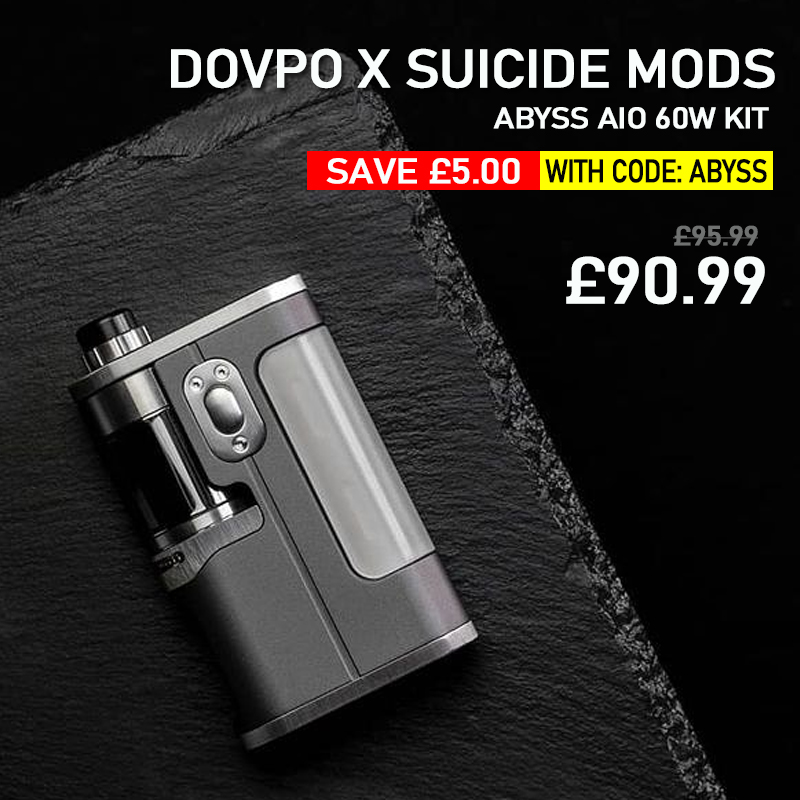 Dovpo X Suicide Mods Abyss AIO 60W Kit - £90.99