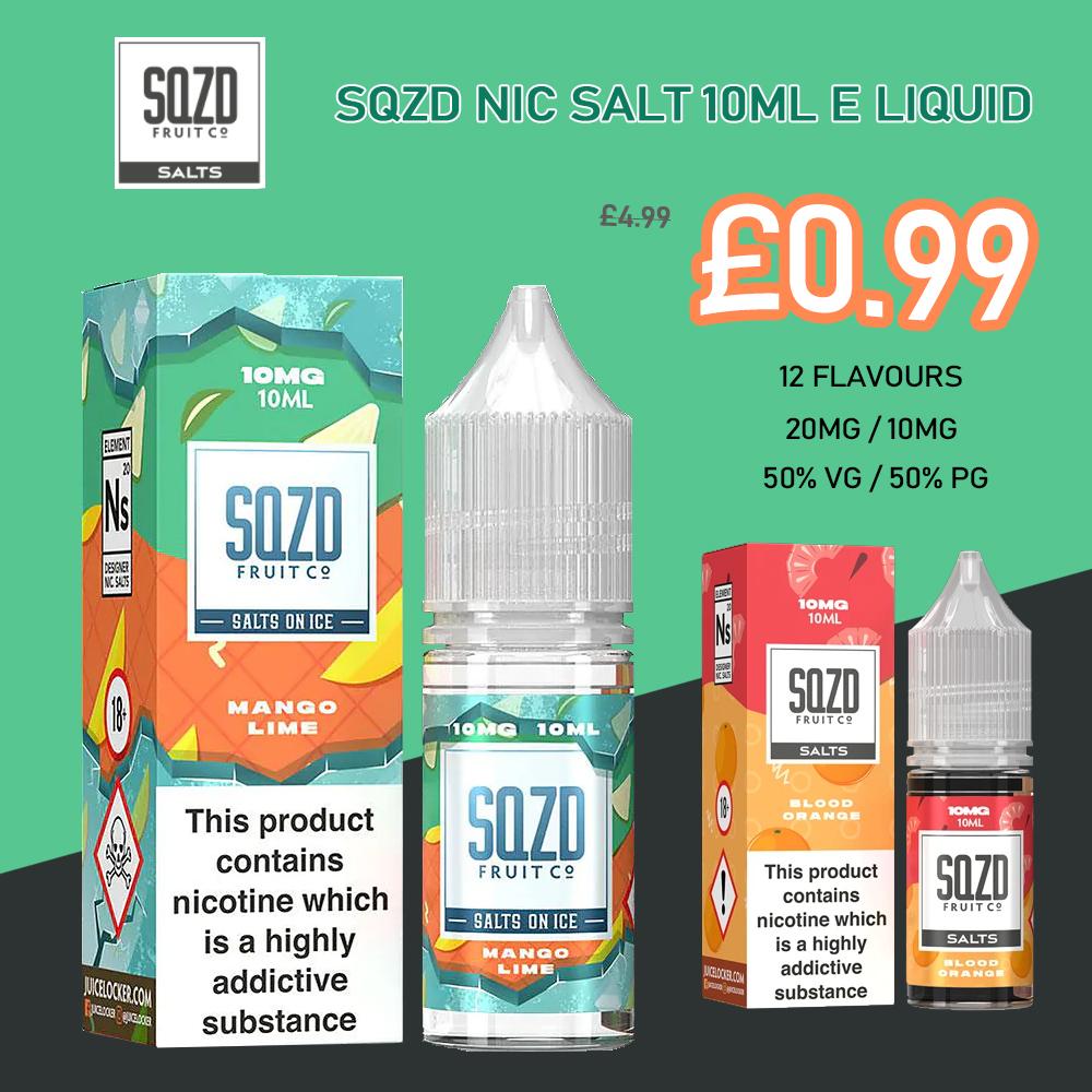 SQZDE liquid10ml 1 - SQZD E-liquid 10ml - £0.99