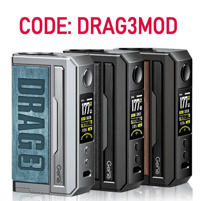 VoopooDrag3177WMod 4 01 - Voopoo Drag 3 177W Mod - £29.99