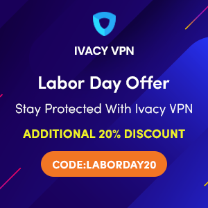 Ivacy Labor Day VPN Deal: Up to 87% off on 5 Years Plan