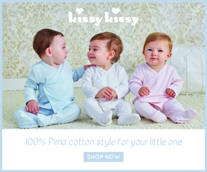 Shop 100% Pima cotton for your little one on kissykissy.com!