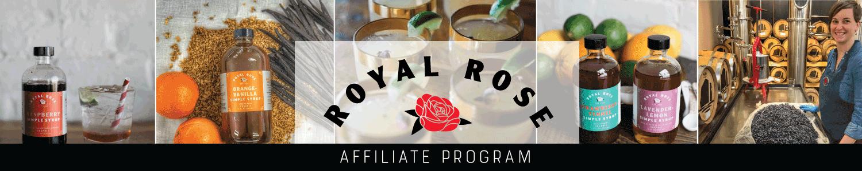 Royal Rose Syrups Affiliate Program