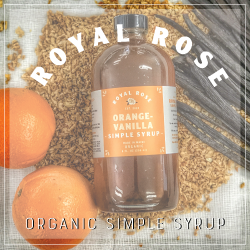 Royal Rose - Organic Simple Syrup