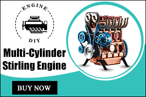 Multi-Cylinder Stirling Engine