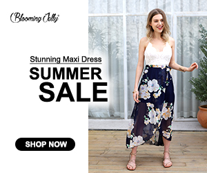 Elegant & Flowy, backless design with stunning floral prints, this maxi dress suits any occassion such as wedding party, vacation and street hangout, etc.