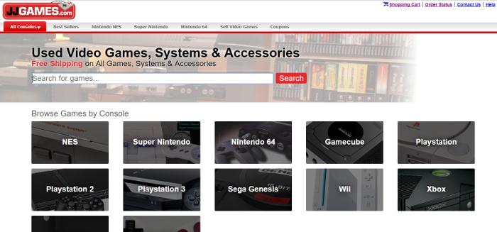 jjgames home page