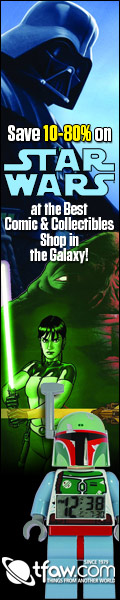 Save 10-90% on Star Wars comics, toys, collectibles, and more at TFAW.com!