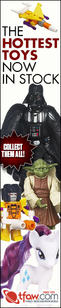 Save 10-50% on in-stock toys at TFAW.com.