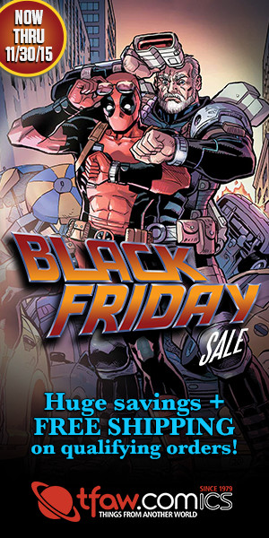 Save 30-70% on 7,000+ comics & more at TFAW.com.
