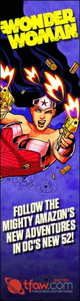 Find Wonder Woman comics and more at TFAW.com!