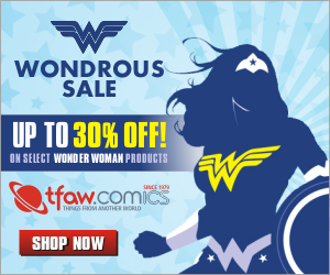 All the Newest Comics, Toys and More at TFAW.com!
