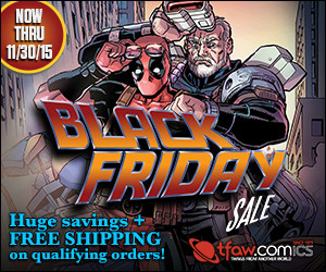 Save up to 60% on 1,000s of comics, toys & more!