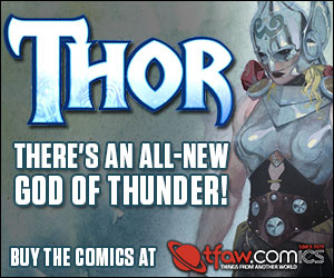 Save 10-50% on Thor Comics, Apparel, and More!