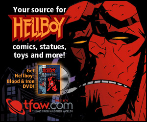 Hellboy comics and merchandise at TFAW.com