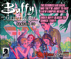 Buy the Buffy Season 8 Library Editions at TFAW.com!