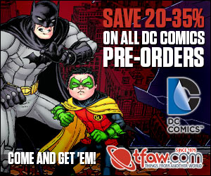 Save 20-35% on DC Comics Pre-Orders at TFAW.com!