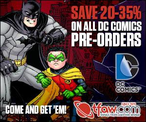 Save 20-35% on DC Comics Pre-Orders at TFAW.com!