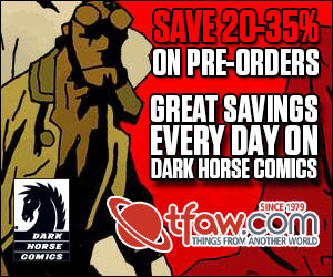 Save 20-35% on Dark Horse Comics Pre-Orders at TFAW.com!