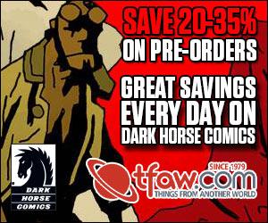 Save 20-35% on Dark Horse Comics Pre-Orders at TFAW.com!