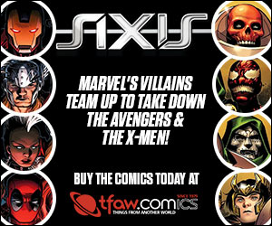 Find Marvel Axis comics and more at TFAW!