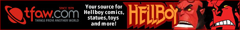 Find Hellboy and the BPRD at TFAW.com