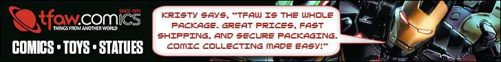 Get Avengers Comics, Graphic Novels & More at TFAW.com.