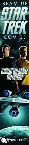 Save 10-50% on Star Trek comics, toys, and more!