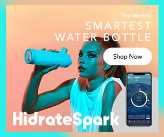 HidrateSpark 3 -- The World's Smartest Water Bottle