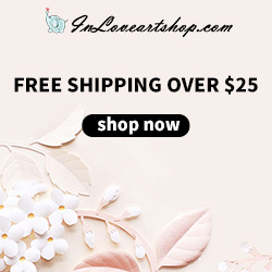 Worldwide free shipping on orders over $25
