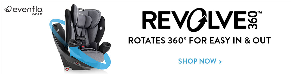 Evenflo Gold Revolve360 Banners