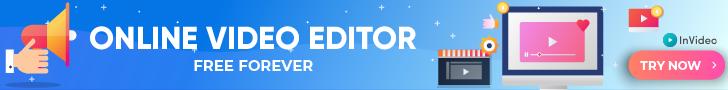 online video editor banner