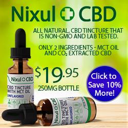 Save 10% on Nixul CBD Tinctures