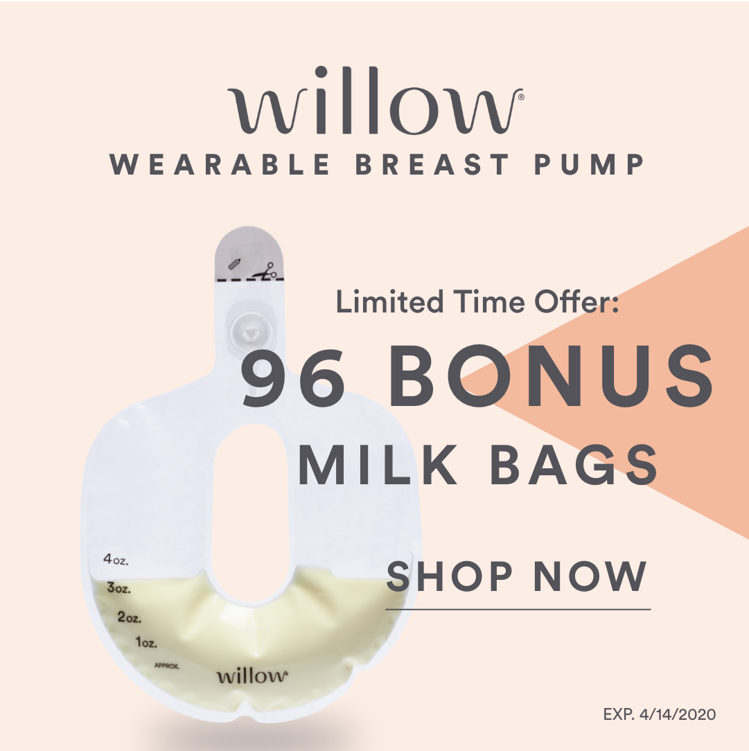 willow breastpump for after having a baby