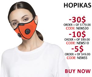 Anti Coronavirus Sport Face Mask With Filter