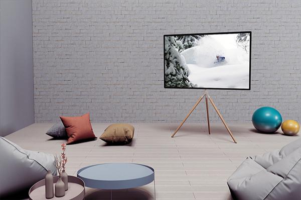 EleTab TV Stand White