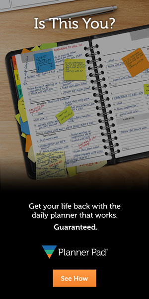 Planner Pads Messy Planner Banner