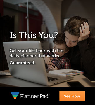 Planner Pads Frustrated Mom Banner