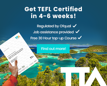 Get Certified with The TEFL Academy