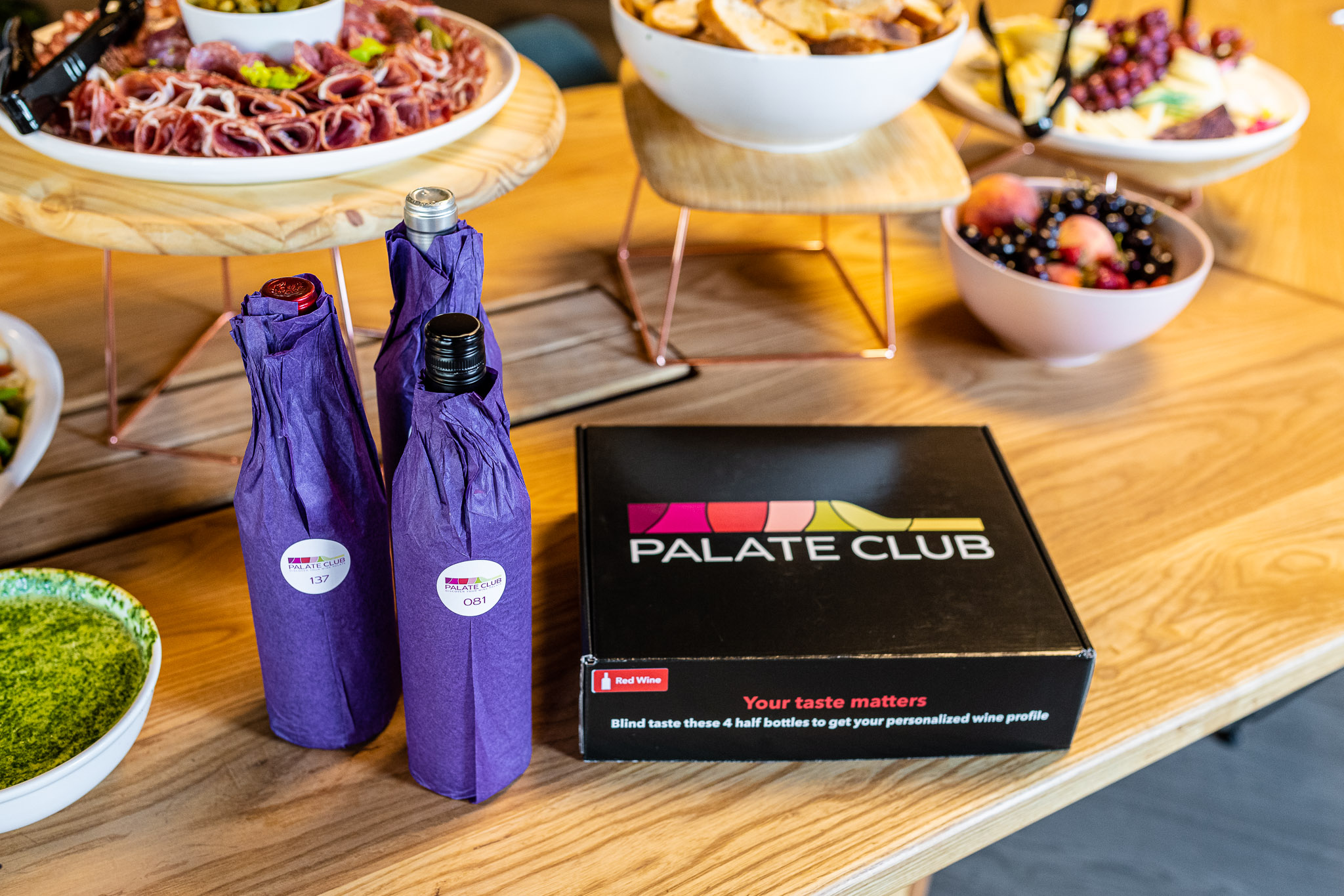 Premium wines matched your taste, shipped when you want them. Easy. Palate Club