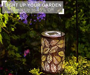 Up to 45% Off Deals Garden Lights