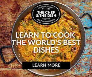 Learn to cook the world's best dishes - Learn more at The Chef and the Dish.com